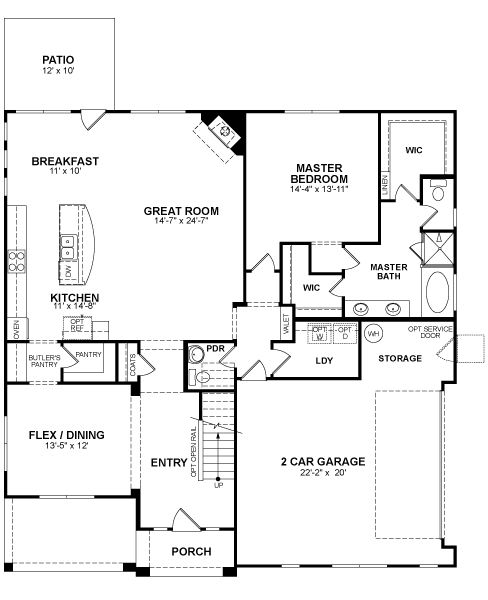 beazer floor plans – gurus floor
