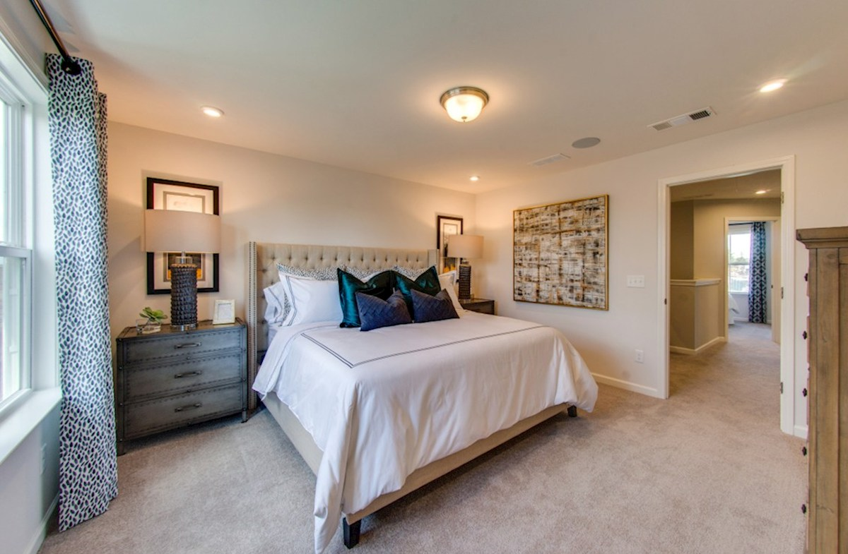 Spring Creek Laurel gracious master bedroom